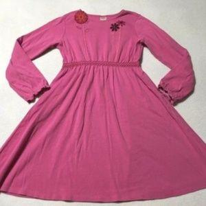 Gymboree Peruvian Doll Pink Smocked Flower Dress